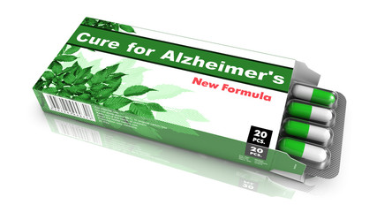 Cure for Alzheimers - Pack of Pills.