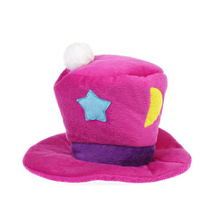chapeau rose clown