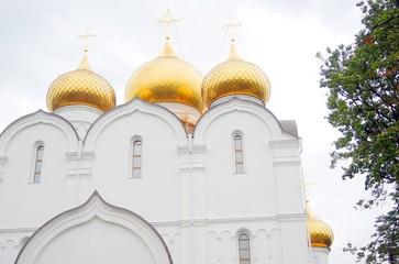 Dormition church in Yaroslavl city, Russia