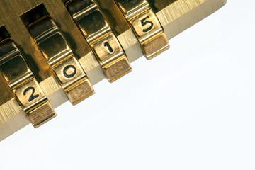 Code 2015 on combination lock