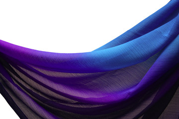 Blue-purple fabric