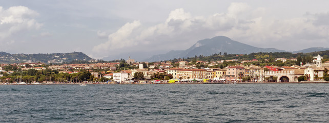 Lazise, Lake Garda, Veneto, Italy, Europe.
