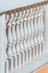 Old style balustrade, balcony fence