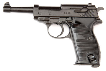 Walther black handgun