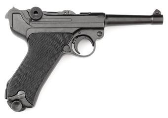 Parabellum black handgun