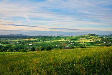 Hill into Beaujolais