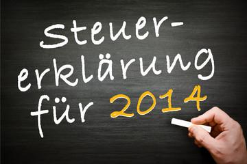 Steuererklärung für 2014