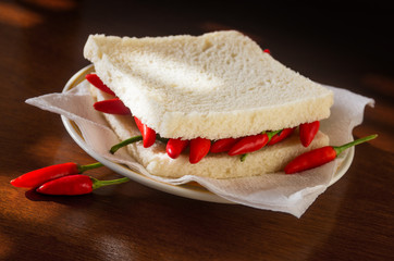 Chili pepper Sandwich