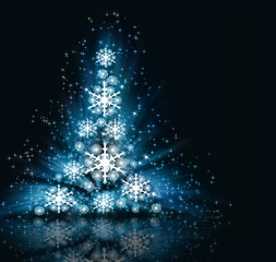 best Christmas  tree background
