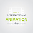 World animation day, October, 28