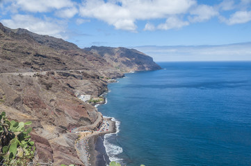 Landscape near Santa Cruz de Tenerife