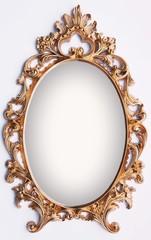 Vintage gold frame - magic mirror