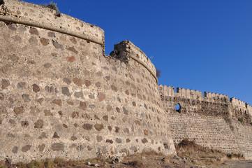 Castle of Antimachias village in Kos island Greece