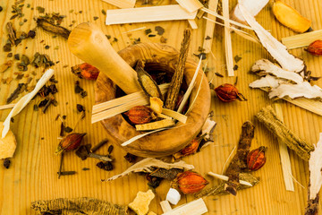 Tee für traditionelle chinesische Medizin