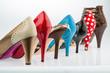 canvas print picture - Schuhe mit hohen Absätzen
