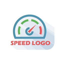 Speed logo, speed icon