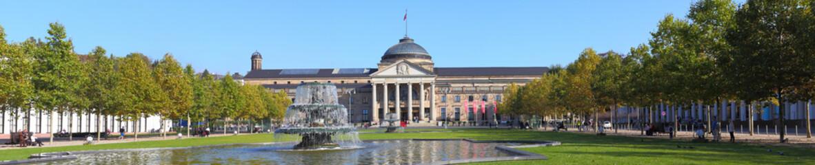 Wiesbaden (Kurhaus, Bowling Green) - Oktober 2014