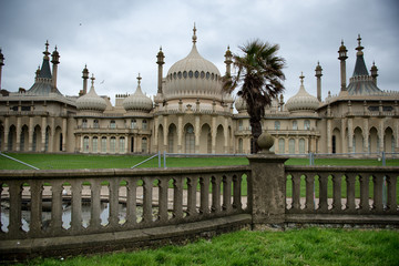 The external facade of the Brighton Royal Pavilion