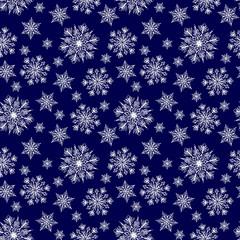 Seamless winter background