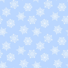 Seamless winter background