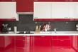 cucina rossa - 71848628