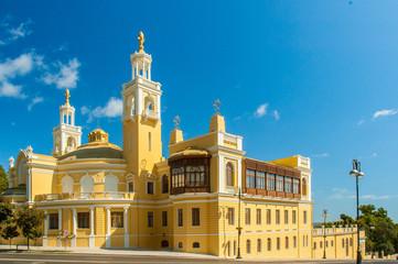 Baku - SEPTEMBER 22, 2007: Azerbaijan State Philharmonic Hall on