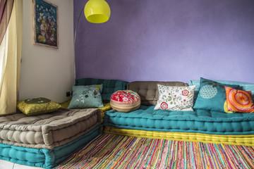 divano colorato