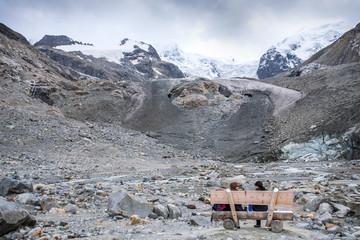 Gletscherzunge Morteratsch