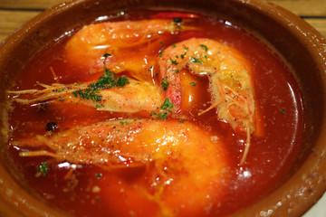 海老の料理