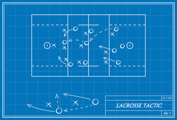 lacrosse tactic on blueprint
