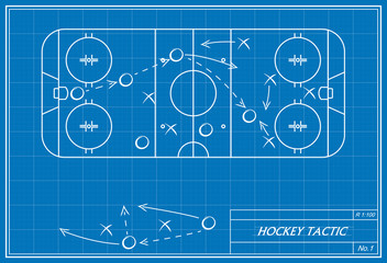 hockey tactic on blueprint