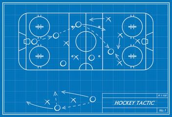 hockey tactic on blueprint