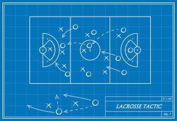 lacrosse tactic on blueprint