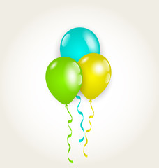Bunch party balloons for your birthday