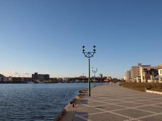 釧路川の川辺