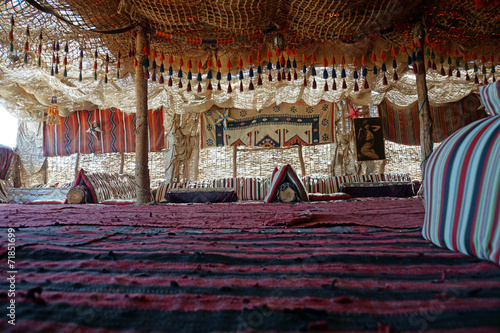 Papiers peints Egypte Bedouine Tent