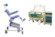 medical bed and medical chair