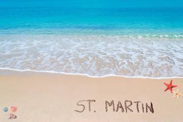 st. martin writing