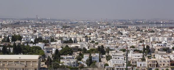Tunis-Tunisia Capital city panorama 07/18/2014