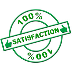 Hundred Percent Satisfaction Indicates Absolute