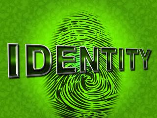 Identity Fingerprint Represents Log Ins And Brand