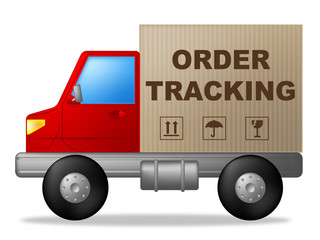 Order Tracking Shows Courier Traceable And Post