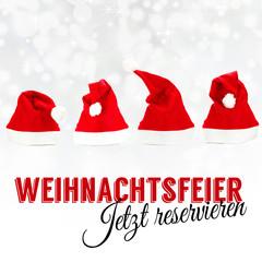 Weihnachtsfeier - Jetzt reservieren
