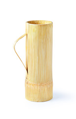 Bamboo glass solated