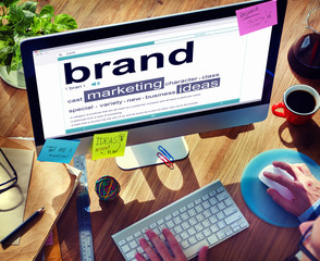 Digital Dictionary Brand Marketing Ideas Concepts