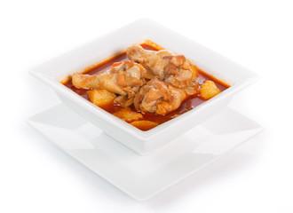 Muss Sa Man Kai Thai curry Chicken spicy