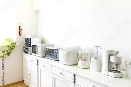 キッチンの電化製品 - 71860436