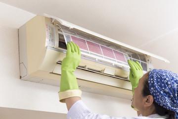 エアコン掃除のビフォー&アフター