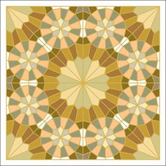 Colorful mosaic pattern, tiling blocks