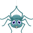 Cute spider cartoon - 71863006